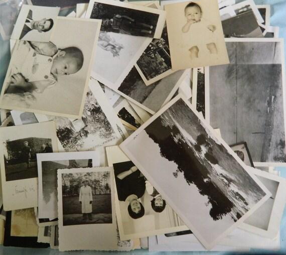 Grab Bag Lot of 25 Vintage Photographs