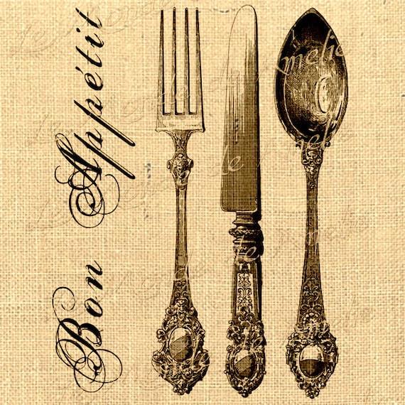 Items Similar To Paris Digital Image Printable Bon Appetit