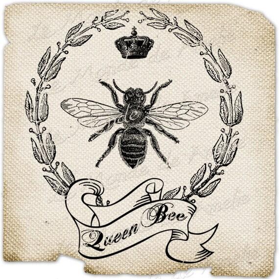 Items similar to Royal Bee bee paris france fleur de lys
