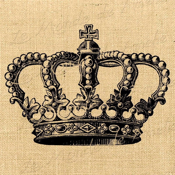 Crown royal vintage king queen digital image royal paris crown for Crown royal tattoo