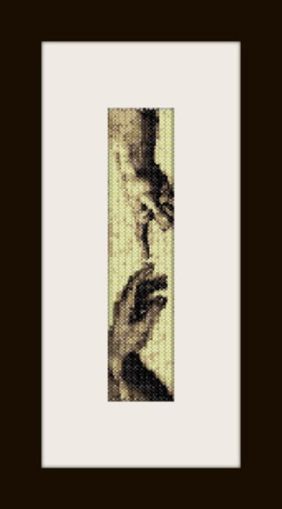 PDF Giudizio U. pattern bracelet in peyote stitch pattern for personal use only