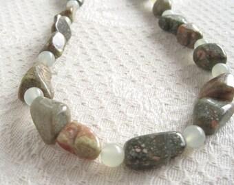 Autumn Jasper Jade Necklace