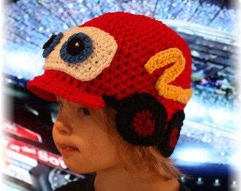 Crochet Car Hat Pattern