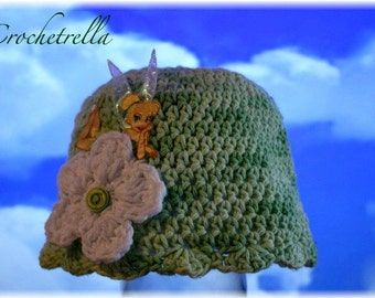 Fairy Hat (Crochet Pattern) Tinkerbell inspired