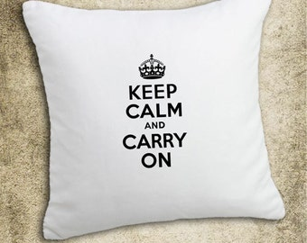 INSTANT DOWNLOAD Keep Calm and Carry On in Black and White - Download and Print - Image Transfer - Digital Sheet by Room29 Sheet no. 292
