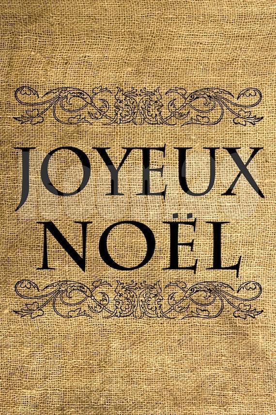 INSTANT DOWNLOAD Joyeux Noël - Download and Print - Image Transfer - Digital Sheet by Room29 Sheet no. 466