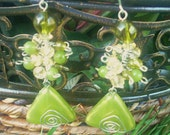 CUSTOM ORDER Triangle Nile Earrings