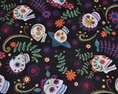 Sugar skull Tie On Reversible Dog Bandana Skull Family Party