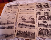 25 Stereographic Cards.. Panama Canal Zone 1906 The Early Years