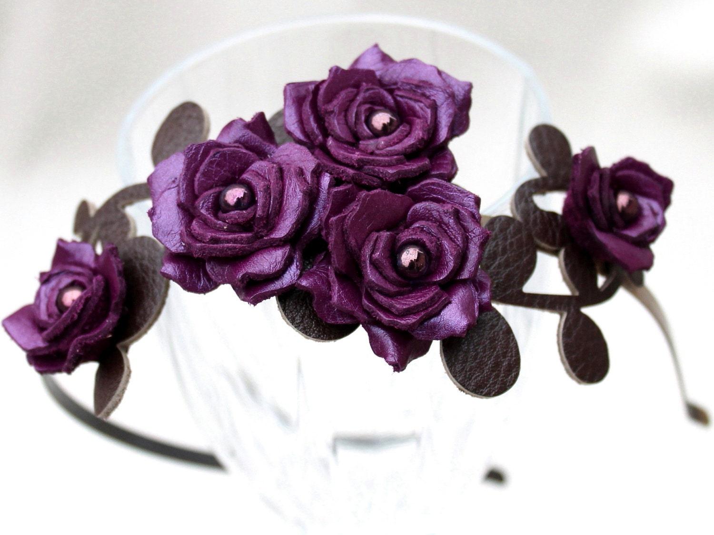 Purple Gardenia Flower
