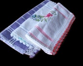 Turkish lace included kitchen towel