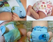 Instant PDF File For Easy fitted cloth diaper sewing tutorial  Both waterproof AND non-waterproof variations