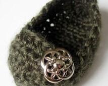 Instant pdf download Easy Quick Crochet Crossover Toe BALLET SLIPPER PATTERN (3-6 Mos)