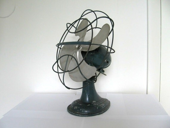 Large vintage electric fan