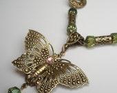 OOAK Victorian inspired butterfly beauty