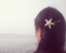 BOGO Sale Starfish Bobby Pin Starfish Hair Pin Starfish Hair Accessories Mermaid Accessories Beach Wedding Hair Accessories Mermaid Costume