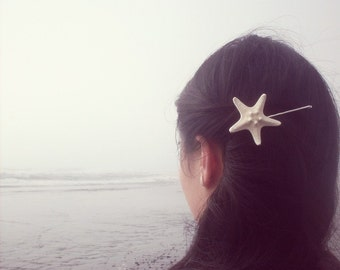 Starfish Bobby Pin Mermaid Hair Clip Sea Star Ariel Costume Nautical Ocean Sea Girls Beach Wedding Accessories Unique Womens Gift For Her