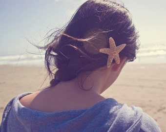Buy One Get One Free Sale Starfish Hair Clip Mermaid Barrette Ariel Mermaid Costume Girls Ocean Destination Summer Beach Wedding Accessories