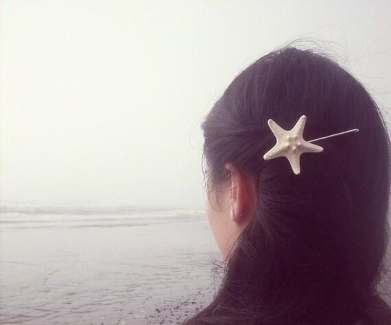 Starfish Bobby Pin Mermaid Hair Clip Sea Star Ariel Costume Nautical Ocean Sea Girls Beach Wedding Accessories Unique Womens Gift For Her