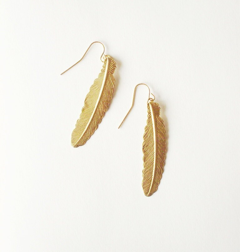 Little golden earrings