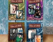 Graduation Announcement Photo Card - Photoshop PSD Templates - No 423 - Thrilled Somewhere Over The Wall