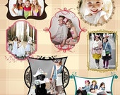 PSD Digital Picture Frames - Adornments of Love - 539