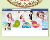 Facebook Timeline Cover Template - Photoshop Files  - No 580