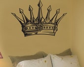 Vinyl Wall Decal Sticker Kings Crown 302
