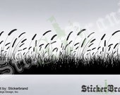 Vinyl Wall Decal Sticker GRAIN FIELD Grass 333