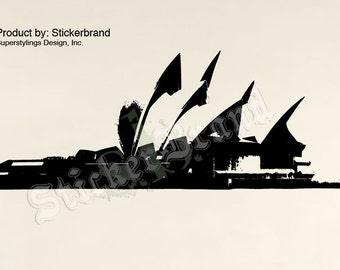 Vinyl Wall Decal Sticker Sydney Australia Opera House 356