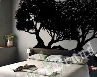 Vinyl Wall Decal Sticker Japanese Bonsai Tree 374B