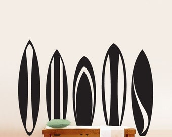 Vinyl Wall Decal Sticker Surfboards Series Set 216