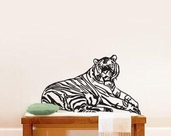 Vinyl Wall Decal Sticker Safari Tiger 319