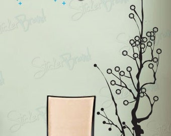 Vinyl Wall Art Decal Sticker Contempo Tree 489