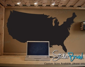 Vinyl Wall Decal Sticker United States of America USA 565