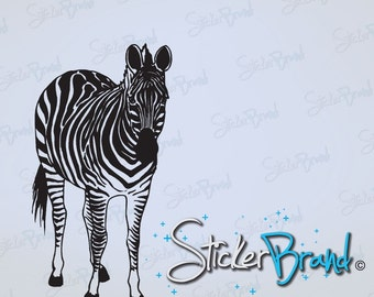 Vinyl Wall Decal Sticker Zebra 598