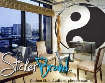 Vinyl Wall Decal Sticker Ying Yang 597B