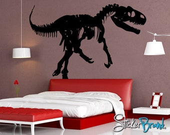 Allosaurus etsy for Best 20 jurassic park wall decal