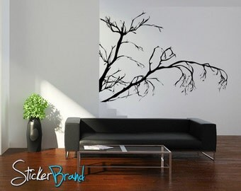 Vinyl Wall Decal Sticker Weeping Tree Branches  AC147s