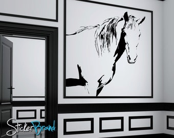 Vinyl Wall Decal Sticker Horse 34inX36in item AC175s