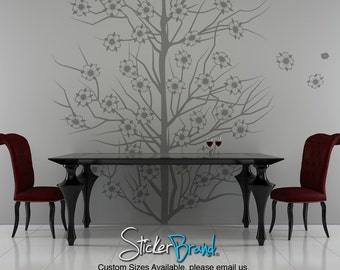 Vinyl Wall Decal Sticker Cherry Blossoms Tree item OSMB119B