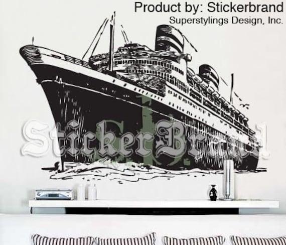 Vinyl Wall Decal Sticker Titanic Cruise Ship 351
