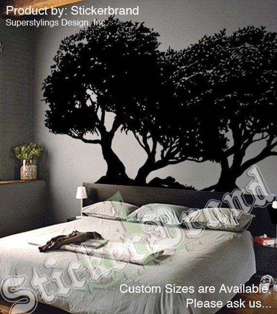 Vinyl Wall Decal Sticker Japanese Bonsai Tree B - Japanese wall decals