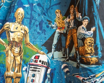 SALE 1979 STAR WARS Empire Strikes Back Curtain Panel