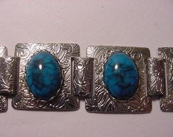 Vintage Faux Turquoise Bracelet   2011 - 557