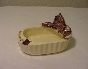 Vintage Horse Ashtray Made By Brooksie In Alaskia1952     2011 - 1701