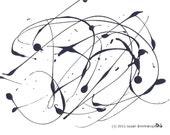 Auraya - abstract print, wall art, home, office decor, gift idea 20, means wonderful, beautiful in Greek