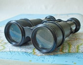 Vintage Champiere Paris French Field Glasses Binoculars