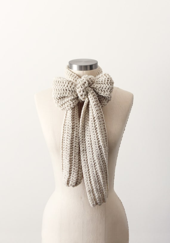 Casual Scarf in Heather