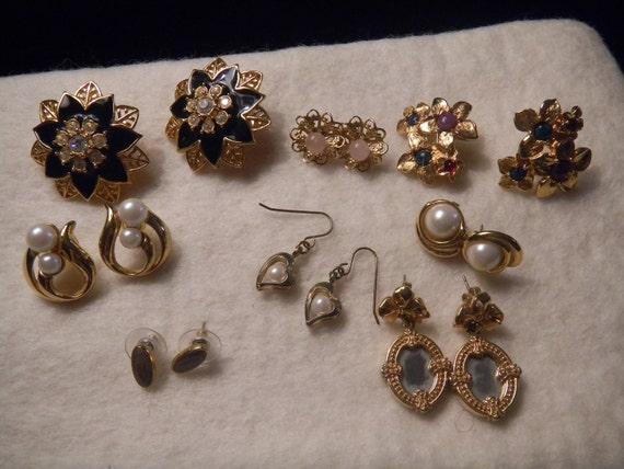 Pierced Earring Lot